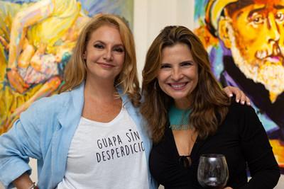 Laura Y Catherina Cardozo la productora del evento